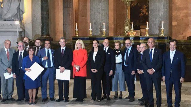 UNIMPRESA: La Presidente Ferrara il premio Carlo Catena