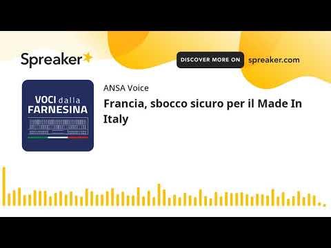Francia, sbocco sicuro per il Made In Italy