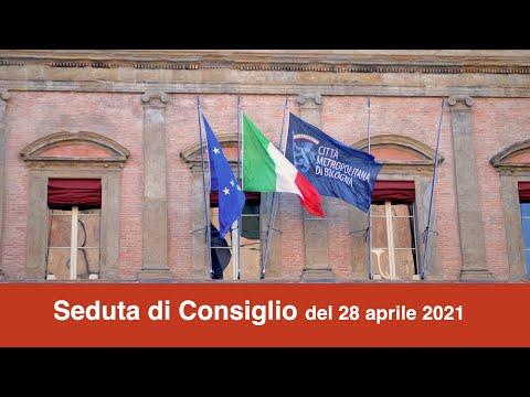 Seduta di Consiglio 28 aprile 2021