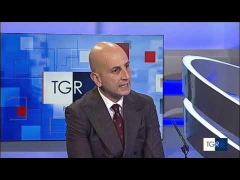 Giovanni Assi, consigliere nazionale Unimpresa a RAI TGR Puglia il 1 aprile 2021