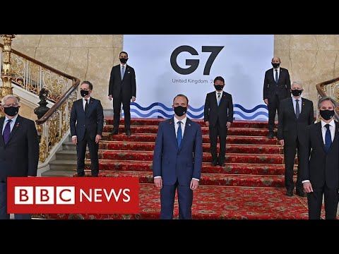 India's G7 delegation forced to self-isolate after positive Covid tests - BBC News