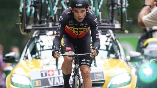 Crono a Van Aert, Pogacar ipoteca la vittoria del Tour