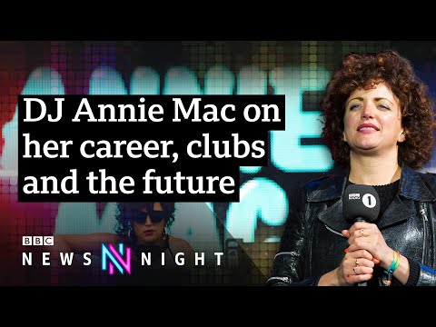 DJ Annie Mac: 'No way' streaming will ever replace radio music - BBC Newsnight