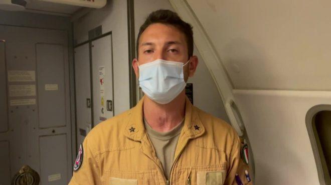 Ponte aereo dall'Afghanistan, la testimonianza di un pilota