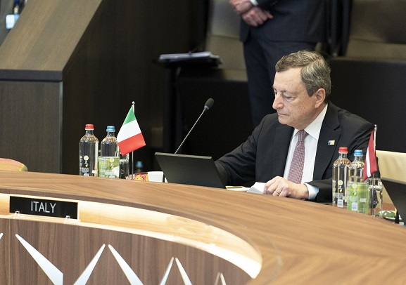 Draghi, piano per ristori danni incendi e rimboschimento Calabria