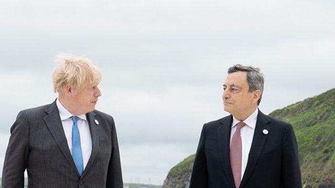 Afghanistan, telefonata Draghi-Johnson, punto su iniziative G7 e G20
