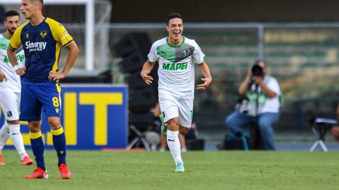 Il Sassuolo espugna Verona e vince 3-2