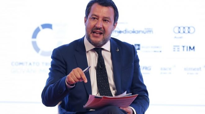 """Salvini """"Chi non si vaccina non è un criminale"""""""