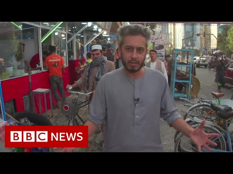 'Normality' in Kabul after Taliban takeover of Afghanistan - BBC News