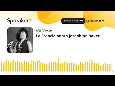 La Francia onora Josephine Baker