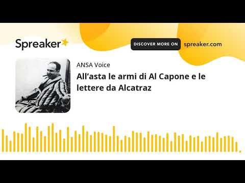 All'asta le armi di Al Capone e le lettere da Alcatraz