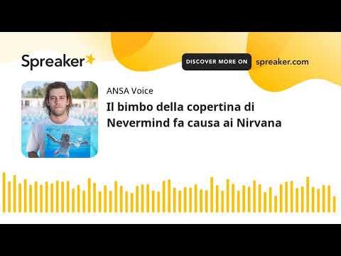 Il bimbo della copertina di Nevermind fa causa ai Nirvana