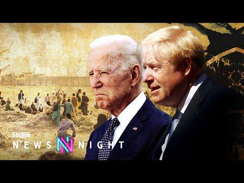 Afghanistan: Biden stands by 31 August evacuations despite G7 pressure - BBC Newsnight