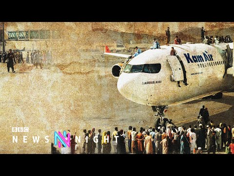 Afghanistan: UK nationals warned not to travel to Kabul airport - BBC Newsnight