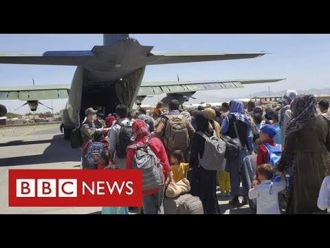 Kabul airlift winds down as bombing death toll reaches 170 – BBC News