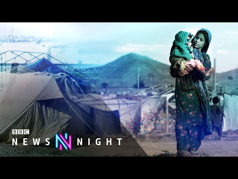 Afghanistan faces a humanitarian crisis as 360,000 Afghans displaced this year - BBC Newsnight