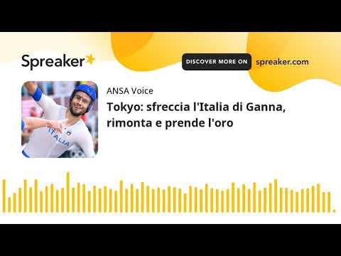 Tokyo: sfreccia l'Italia di Ganna, rimonta e prende l'oro