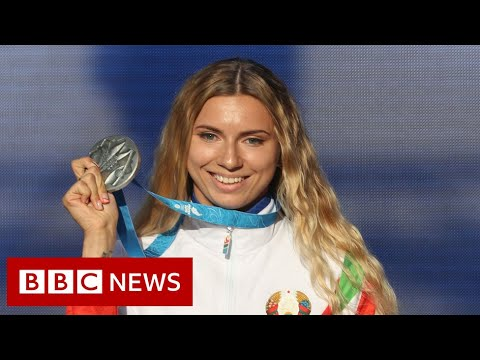Belarus sprinter who refused orders to fly home lands in Austria - BBC News