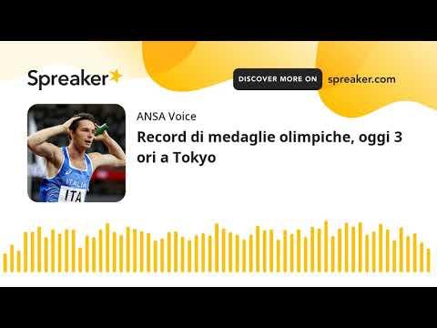 Record di medaglie olimpiche, oggi 3 ori a Tokyo