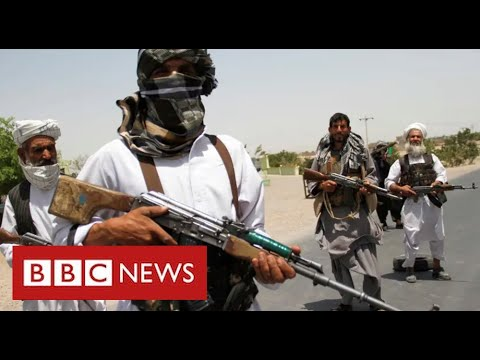 Taliban fighters reach heart of Helmand  as foreign forces withdraw - BBC News
