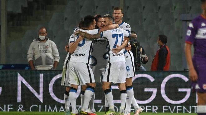 L'Inter vince in rimonta, Fiorentina battuta 3-1