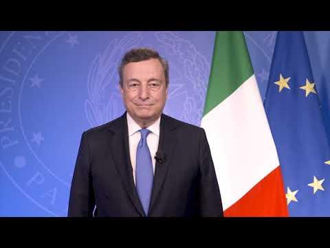 Major Economies Forum on Energy and Climate, il videomessaggio del Presidente del Consiglio Draghi
