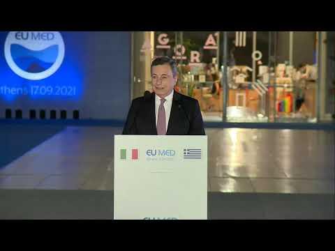 EU MED 9, le dichiarazioni del Presidente Draghi