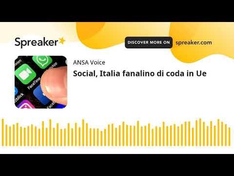 Social, Italia fanalino di coda in Ue