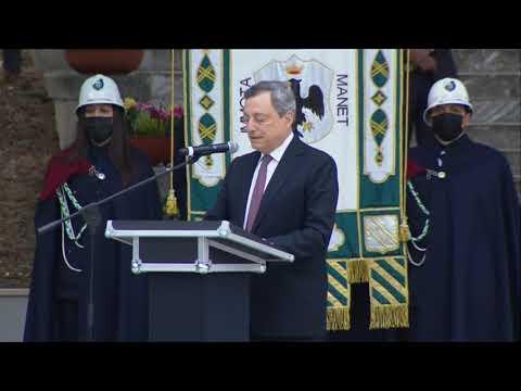 L'intervento del Presidente Draghi a L'Aquila