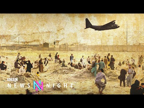 Afghans who worked alongside British spies left in Afghanistan - BBC Newsnight