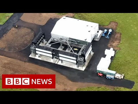 World's largest carbon dioxide sucking factory opens in Iceland – BBC News