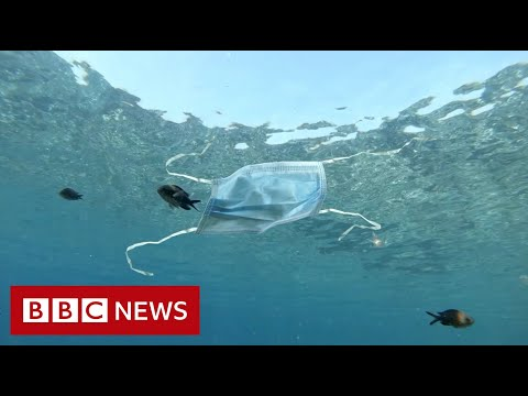 Recycling disposable masks – BBC News