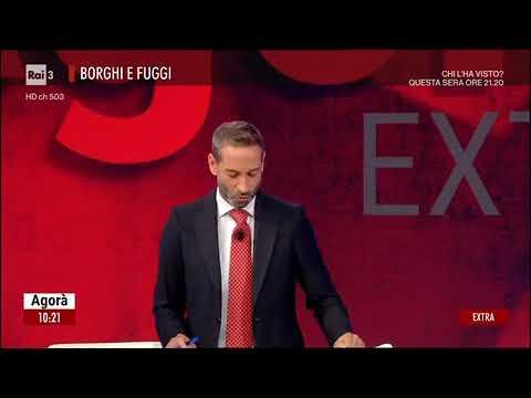 Giovanni Assi (Unimpresa) ospite su Rai 3 ad AGORA' EXTRA il 13.10.21