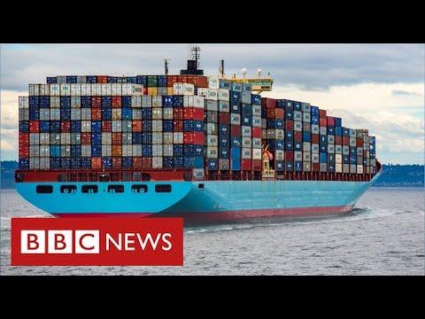 """""""No toys at Christmas"""" warning as global supply crisis deepens - BBC News"""