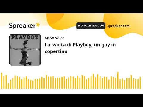 La svolta di Playboy, un gay in copertina