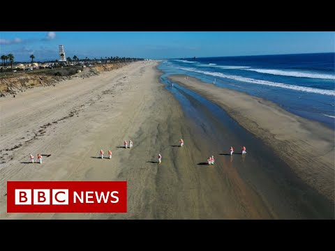 Searching for the cause of California crude oil spill - BBC News