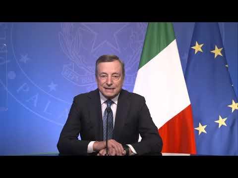 Il Presidente Draghi interviene  al Summit B20