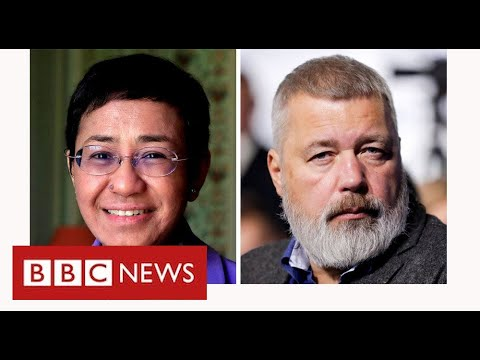 Nobel Peace Prize for journalists in Russia and Philippines - BBC News