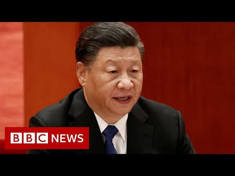 Chinese leader Xi Jinping vows 'reunification' with Taiwan - BBC News