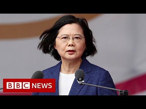 Taiwan won't bow to China pressure, leader says - BBC News